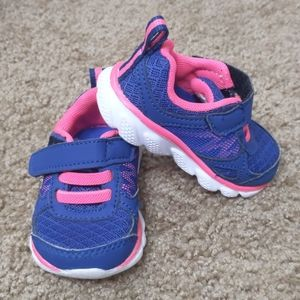 Garanimals Blue with Pink Detail Sneakers Size 3
